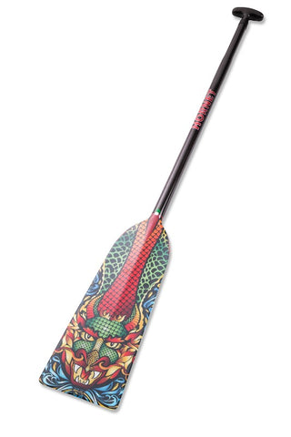 God of Water Hornet STING G15 Dragon Boat Paddle IDBF Approved Available in Fixed or Adjustable Lengths with Design on Both Sides