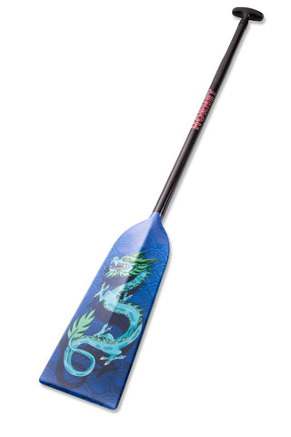 Blue Dragon Hornet STING G3 Dragon Boat Paddle IDBF Approved  in Fixed or Adjustable Lengths with Design on Both Sides