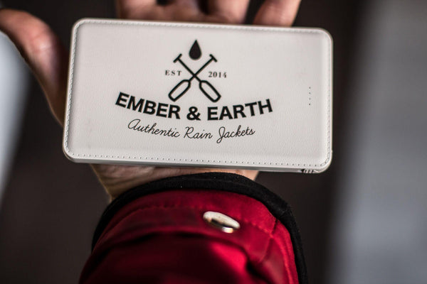 The Ember&Earth Powerbank - Ember&Earth Rainwear, Slim Fit Raincoat