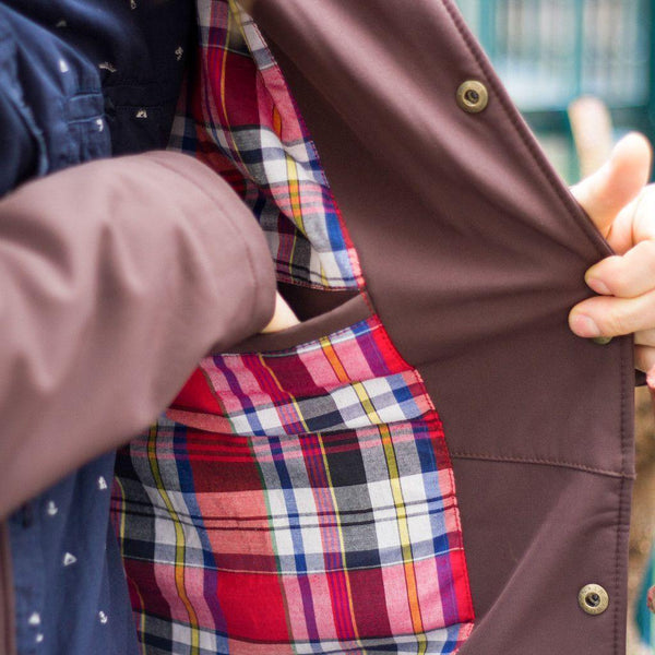 Brown | The Suave - Ember&Earth Rainwear