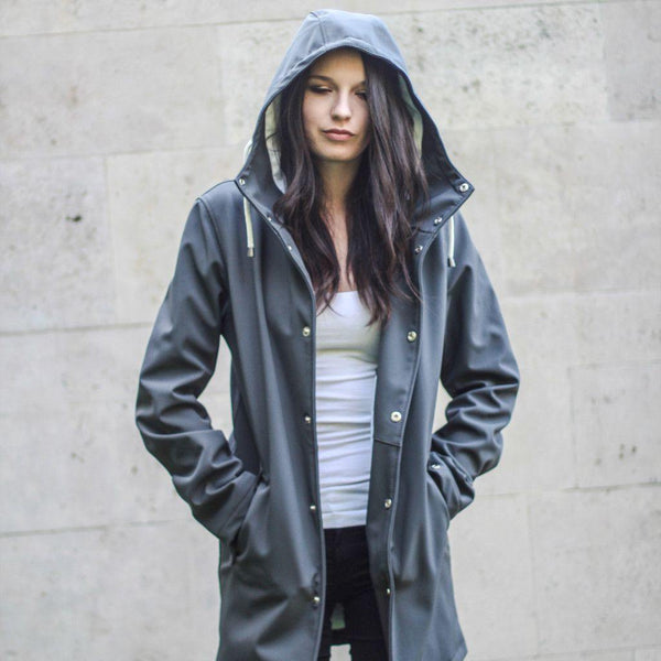 Grey | The Wise - Ember&Earth Rainwear