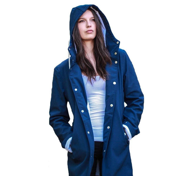 Navy | The Ambitious - Ember&Earth Rainwear