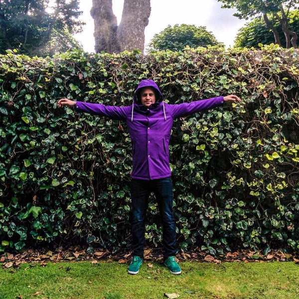 Purple | The Royal - Ember&Earth Rainwear