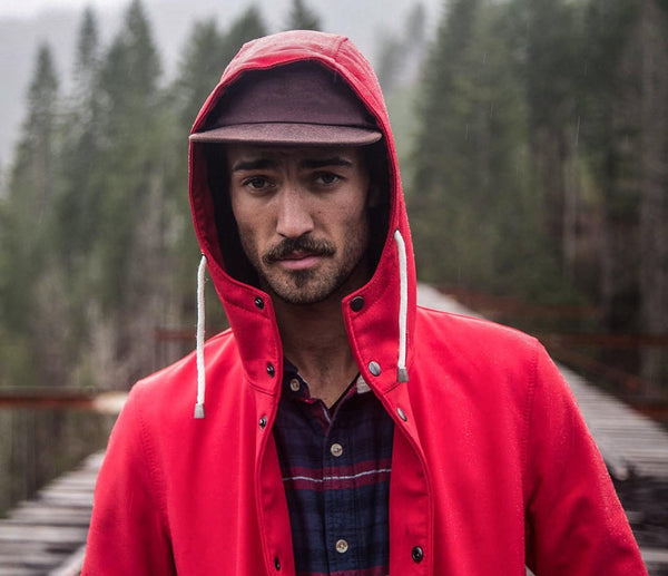 Red | The Brave - Ember&Earth Rainwear