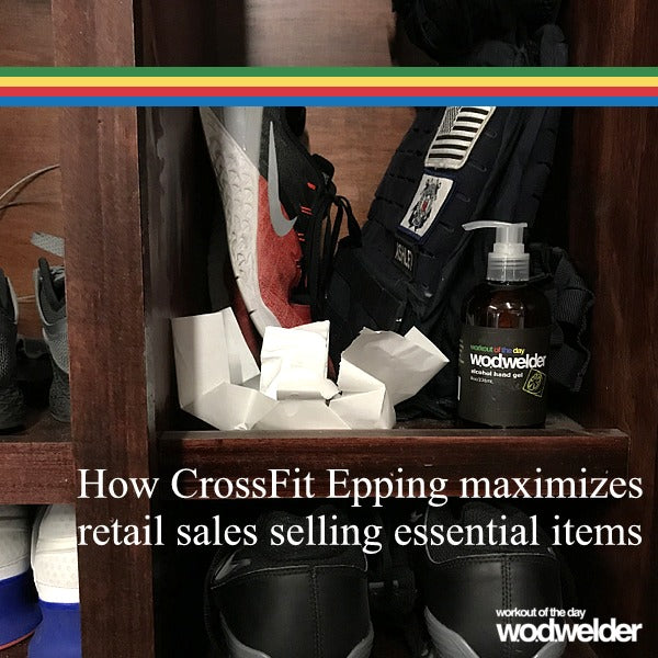 How CrossFit Epping maximizes retail sales selling essential items