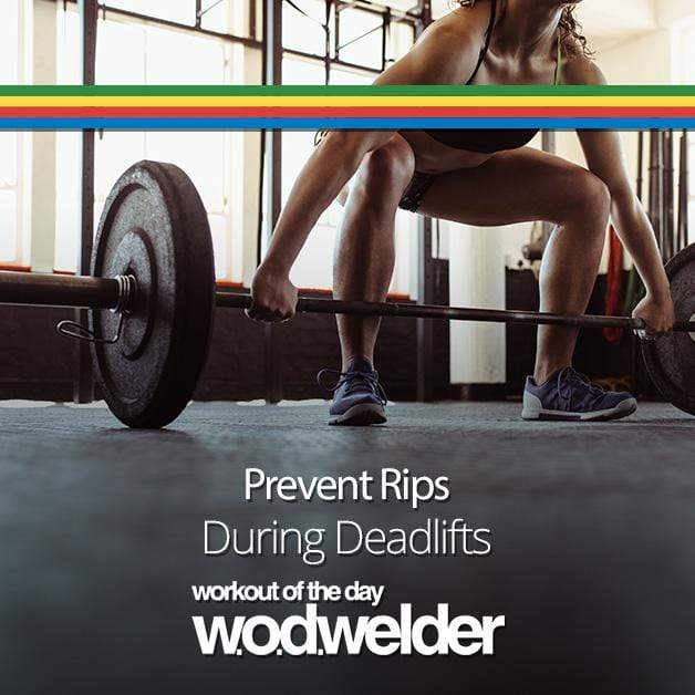 Prevent Rips During Deadlifts