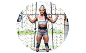 Elivate Nutrition's Top 8 Crossfitters on IG includes w.o.d.welder athlete Rachel Campbell
