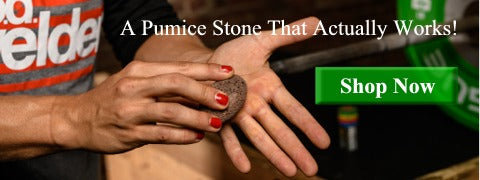 how to get rid of calluses with a pumice stone