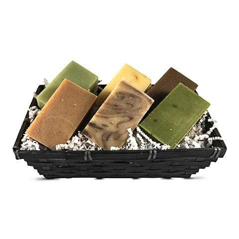 Natural Soap Gift Basket 6 bars