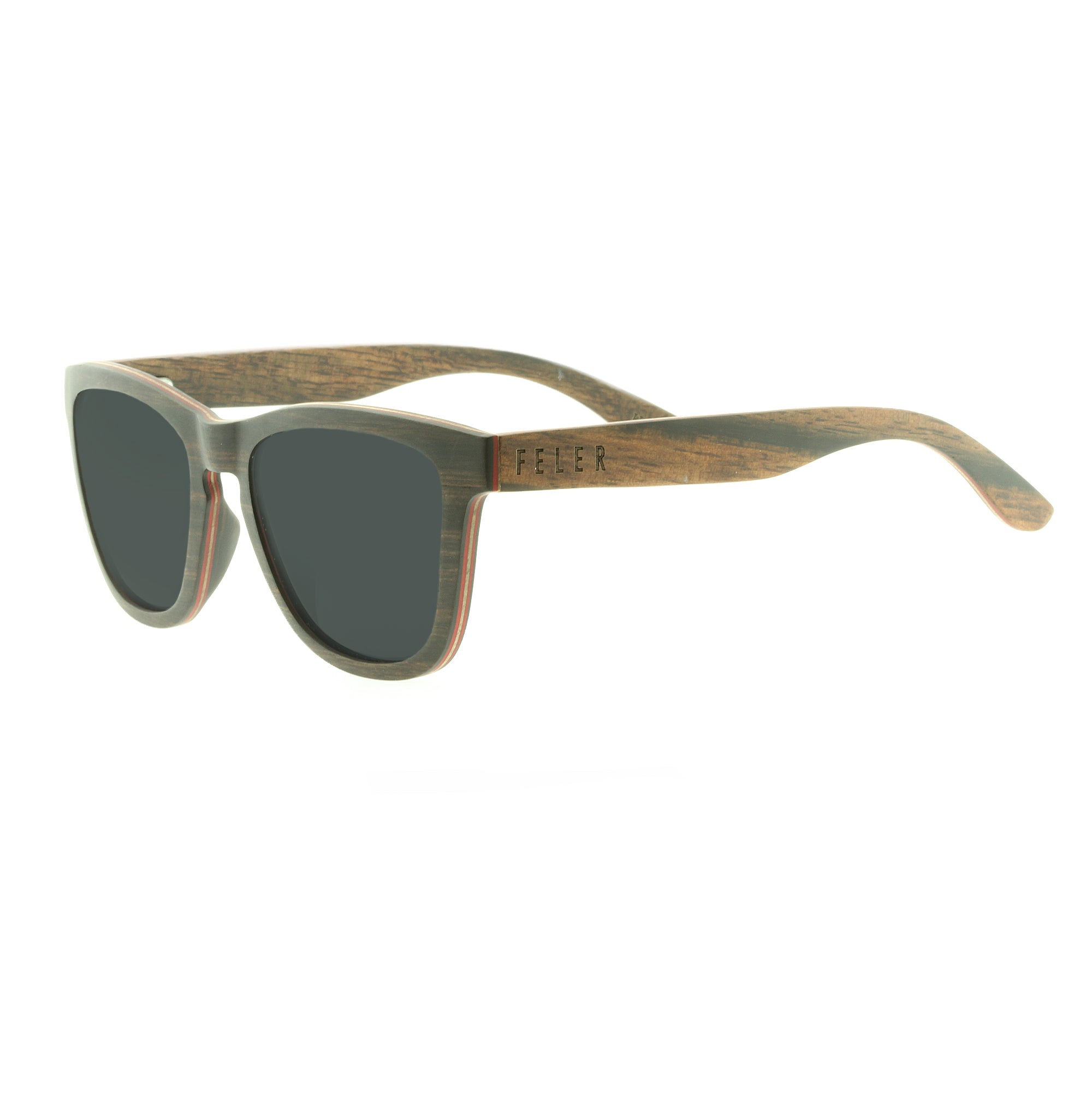 6dbae350a3 Regular Wood Ebony - Gafas de sol - Feler Sunglasses