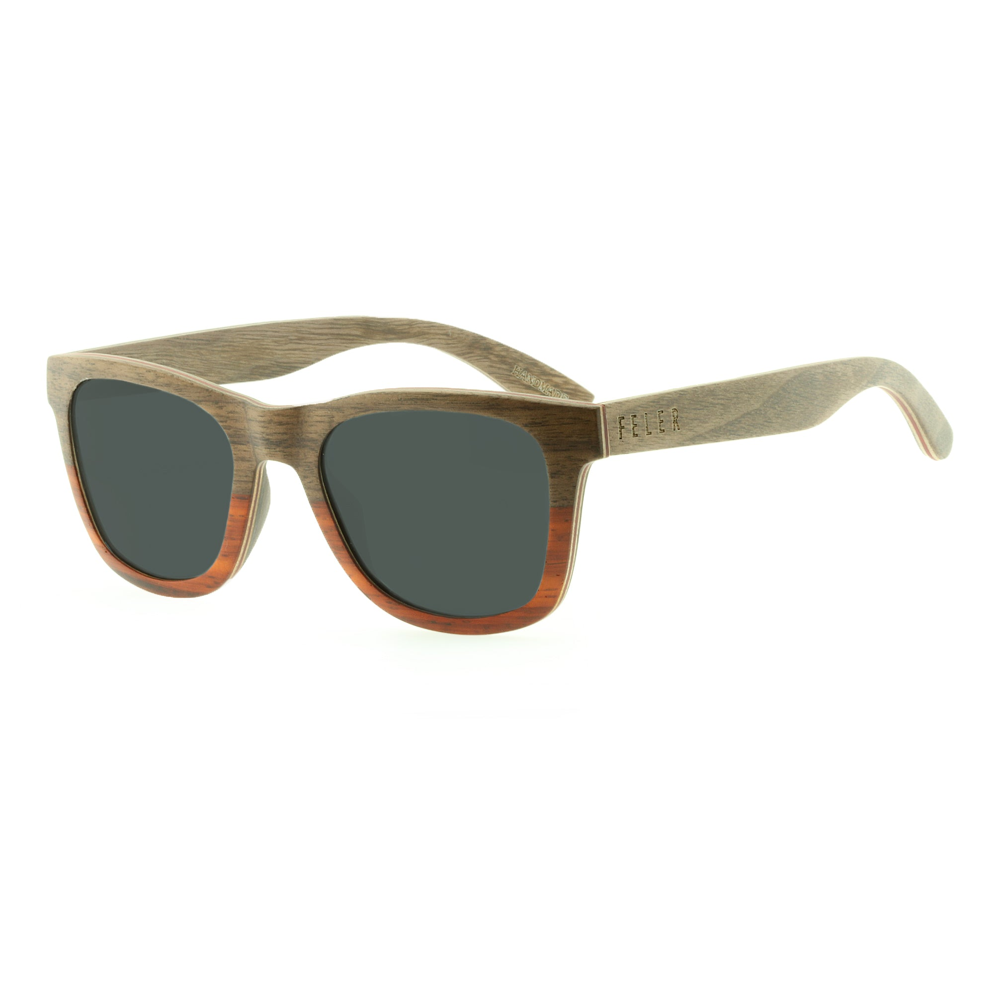 9c49840c44 Regular Wood Walnut - Gafas de sol - Feler Sunglasses