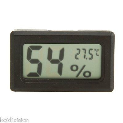 Digital LCD Temperature Hygrometer Humidity Thermometer - Reptiles - Koidivision