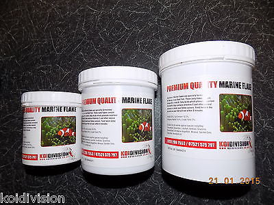 Premium Quality Complete  Marine Flakes Fish Food Aquarium Tub 30g 55g 100g - Marine Food - Koidivision - 1