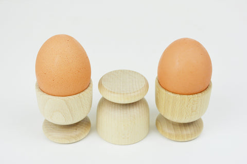 Beech Wood Egg Cups
