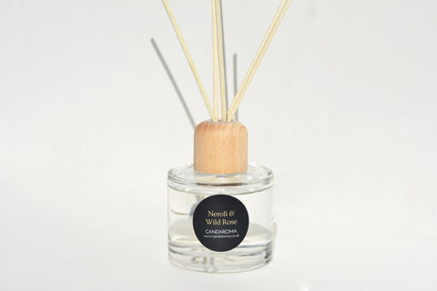 Candaroma Neroli and Wild Rose Reed Diffuser