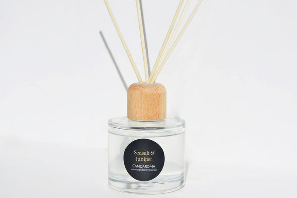 Candaroma Seasalt and Juniper Reed Diffuser