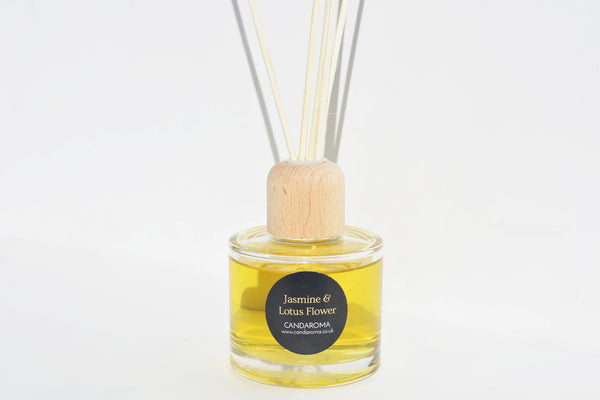 Candaroma Jasmine and Lotus Reed Diffuser
