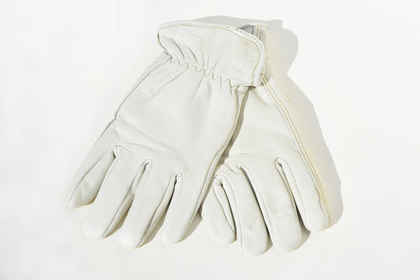 Leather Gardening Gloves with Soft Lined Interior
