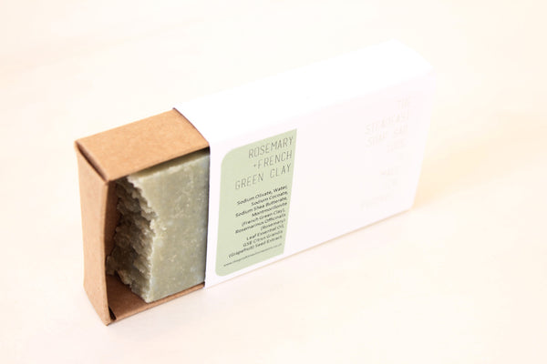 The Steadfast Soap Bar | Rosemary + French Green Clay