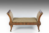 A Regency Mahogany Window Seat - ST502