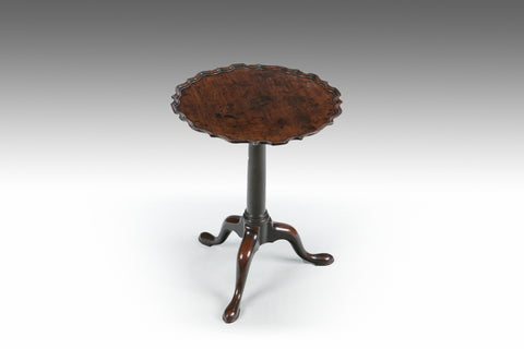 A Georgian Scallop Top Table - TB716