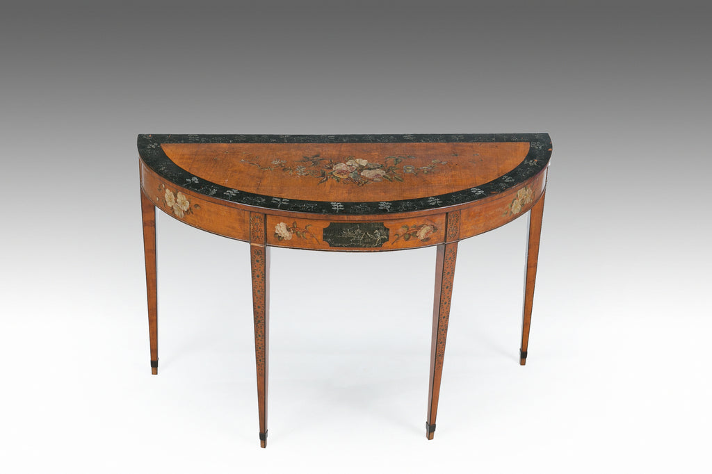 A Fine Georgian Painted Table - TB712