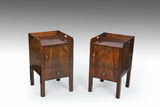 A Near Pair of 18th Century Bedside Cupboards - CP110
