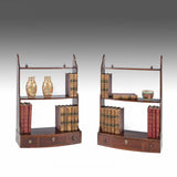 A Pair of Georgian Mahogany Bookshelves - MS202