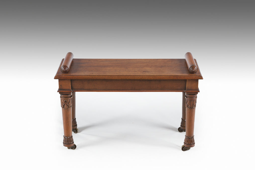 A William IV Mahogany Stool - ST504