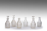 A Set of Six Waterford Decanters - MS205
