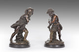 A Pair of 19th Century Bronze Figures - MS206