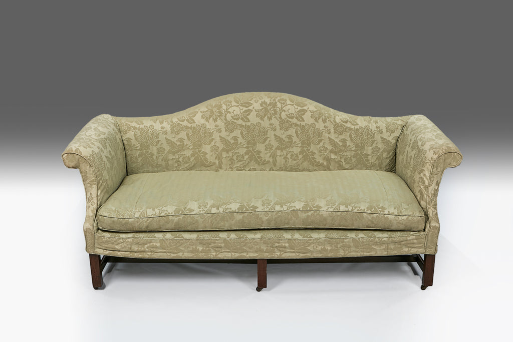 A Chippendale Camel Back Settee - ST411