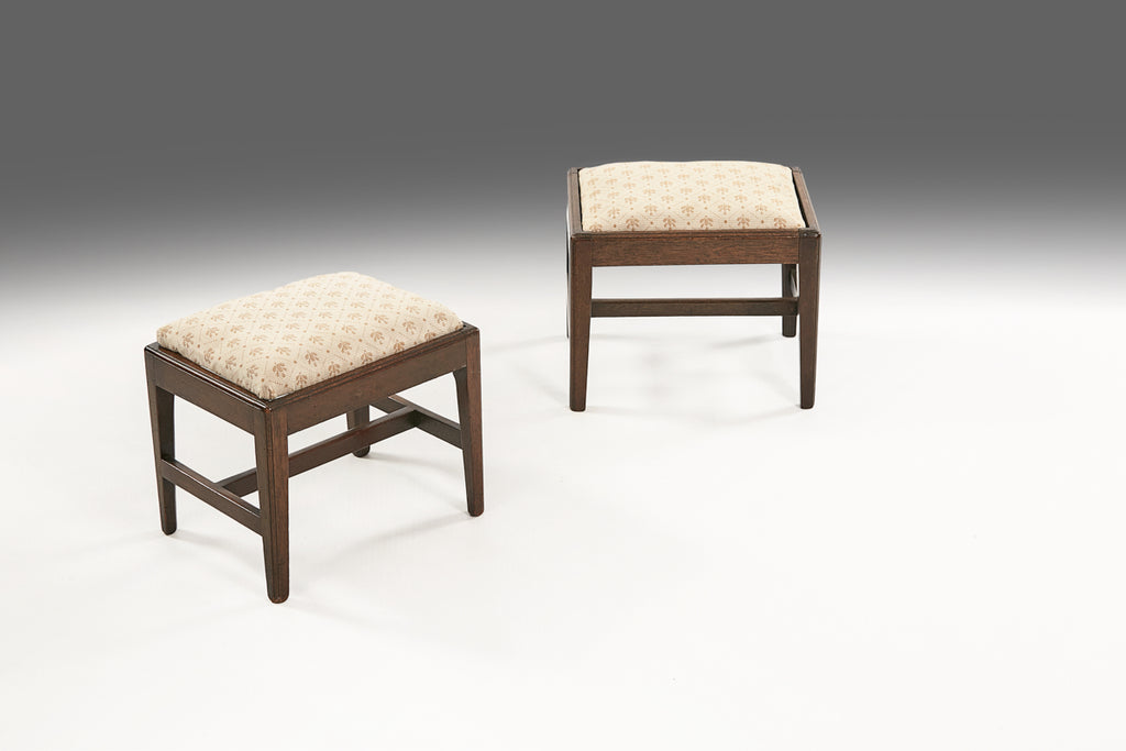 A Pair of Diminutive Foot Stools - ST455