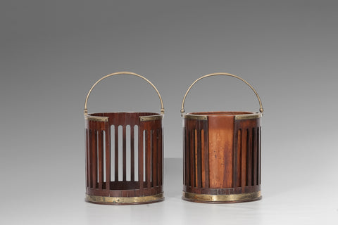 A Pair Of Irish 18th Century Plate Buckets BUC105