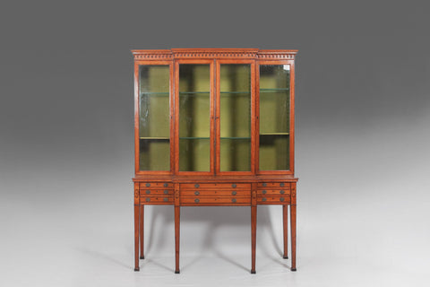 Georgian Satinwood Display Cabinet - BCB107