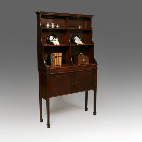 A Fine Chippendale Cabinet with Bookshelves - BCB150