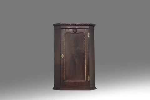 A Pair of 19th Century Corner Cupboards - CP109