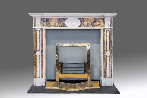 An 18th Century Chippendale Style Fireplace - FP105