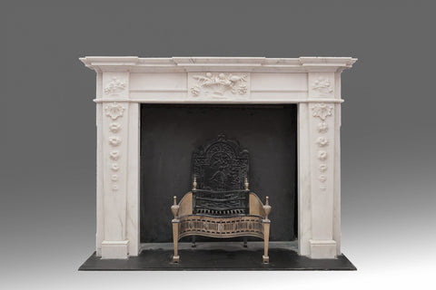 An Adam Marble Fireplace - FP106