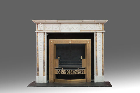 A Fine Carved Adam Fireplace - FP104