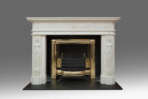 A Statuary marble Georgian Chimneypiece - FP102