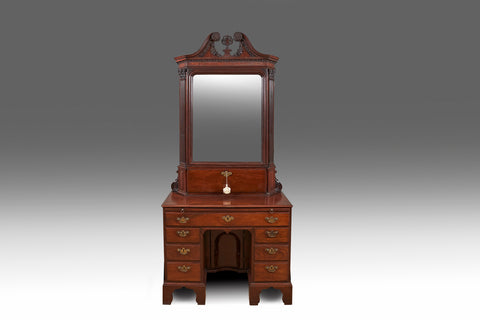 A Georgian Chippendale Breakfront Bookcase - BCB201