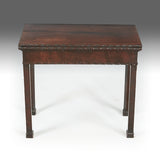 A Georgian Fretwork Tea Table - REST09