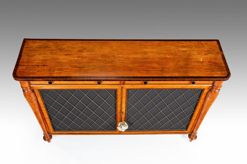 A Fine 18th Century Satinwood Cabinet - BCB170