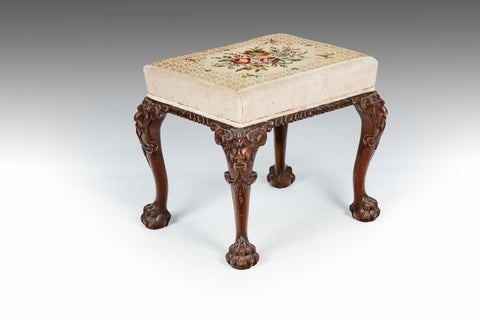 A 19th Century Cluster Column Stool - ST445