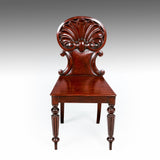A Pair of Regency Hall Chairs - ST507