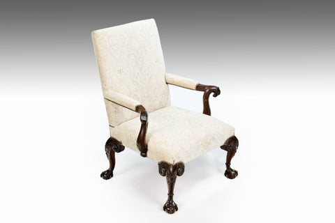 A 19th Century Carved Armchair - ST500