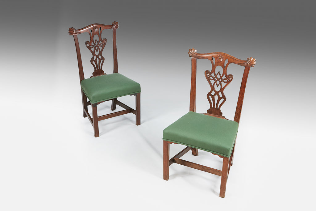 A Pair of Georgian Side Chairs - ST433