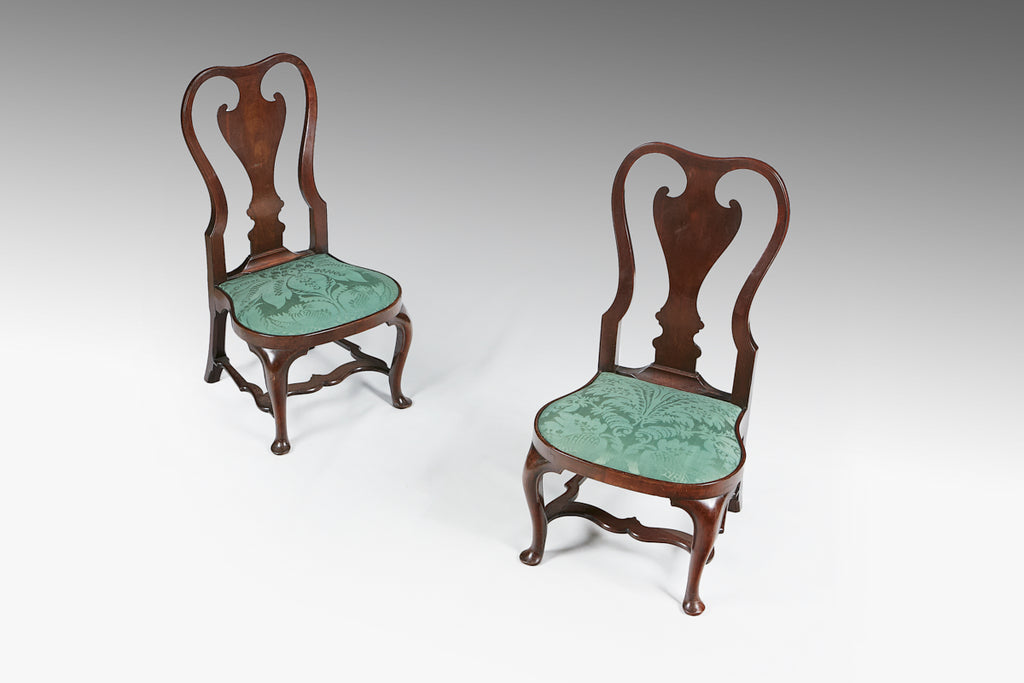 A Pair of 18th Century Child Side Chairs - ST435