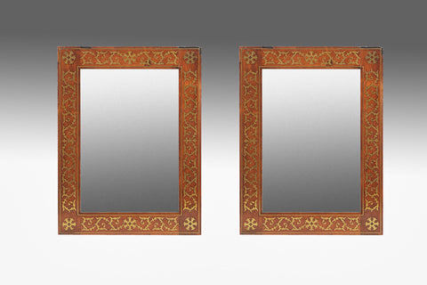 A Pair of Regency Mirrors - MR165